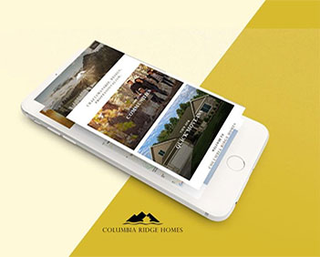 columbia ridge homes responsive html project