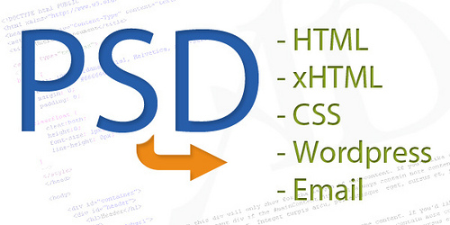 Outsource PSD to HTML or XHTML or CSS