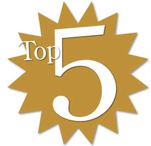 Top 5 CSS web design