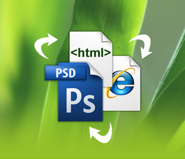 PSD to HTML conversion service from Indian