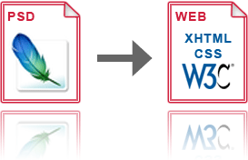 psd to xhtml conversion solution