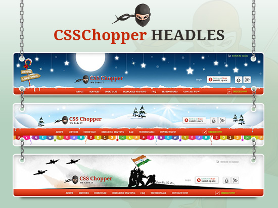 CSSChopper-Headles