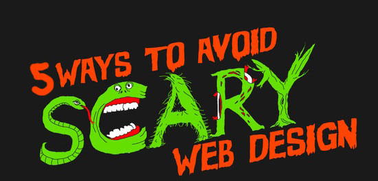 Banner Avoid Scary Designs in Your Website