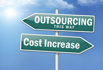 Outsourcing, This Way - Cost Increase