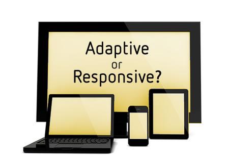Adaptive VS Responsive