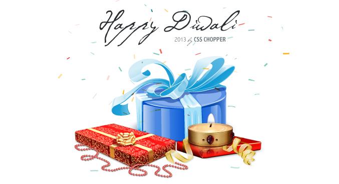Surprise Diwali Gift from CSSChopper
