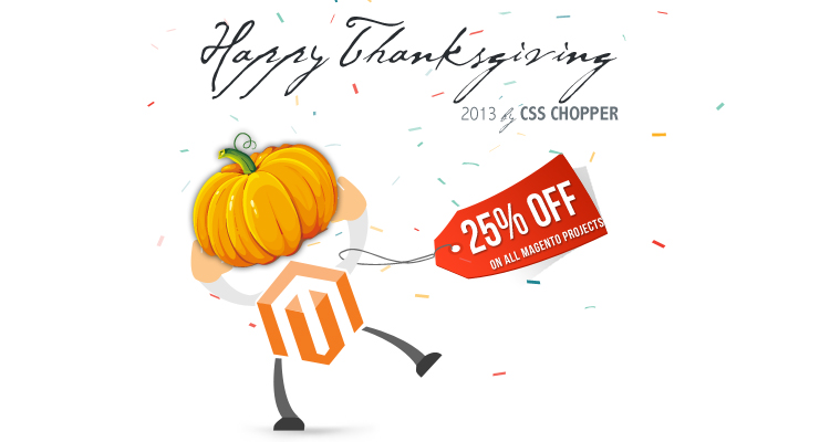 discount on Magento Customization Projects