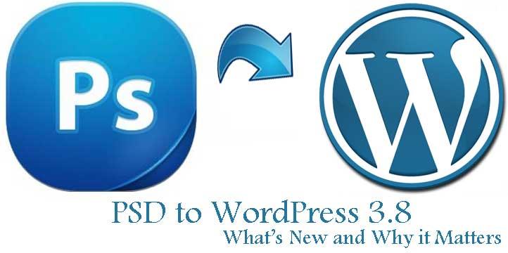 PSD to WordPress 3.8