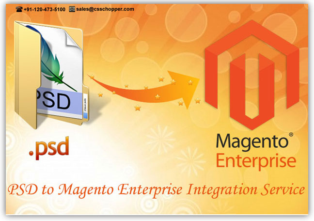 PSD to Magento Enterprise