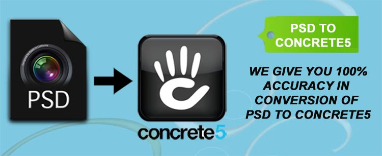PSD to Concrete5 theme