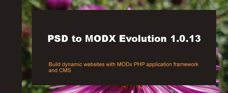 PSD to Modx Evolution