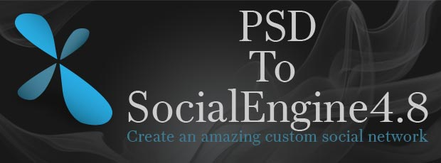 PSD to SocialEngine 4.8