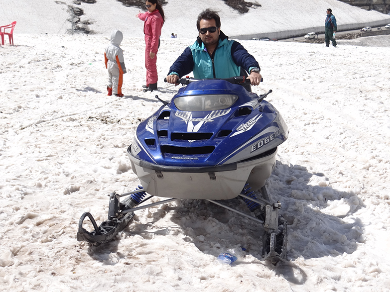 Snow Jet Scooter