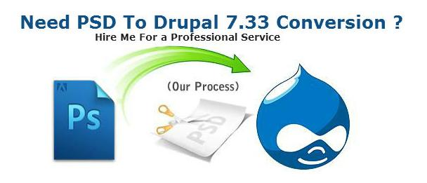 psd-to-drupal 7.33 Conversion