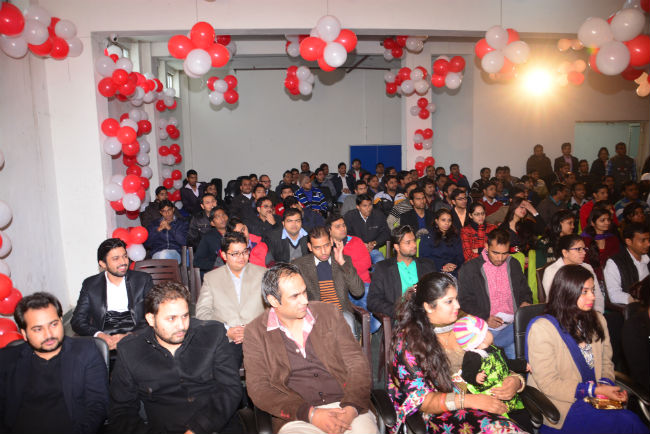Audience Enjoying