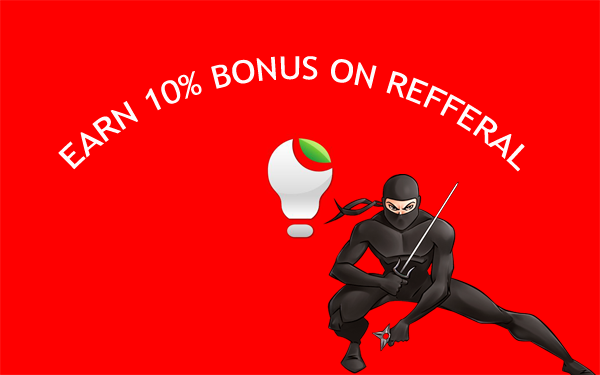 Earn Bonus on referral