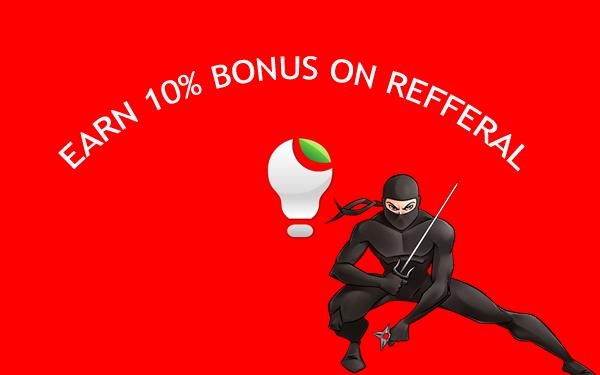 Earn Bonus on referral