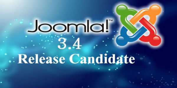 Joomla 3.4 Release Candidate