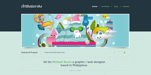 Convert Artthatworks From PSD to HTML Using Boilerplate