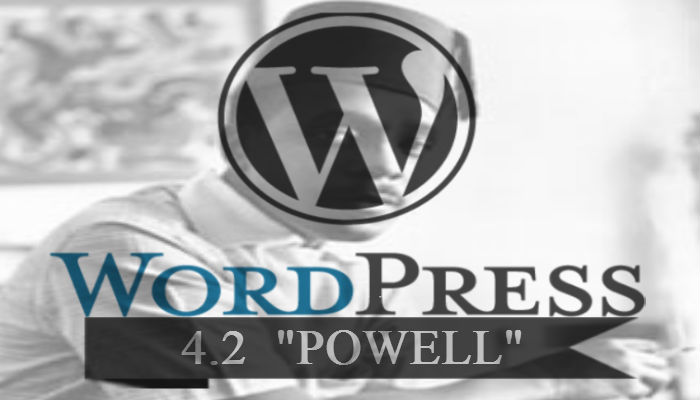 wordpress 4.2 powell