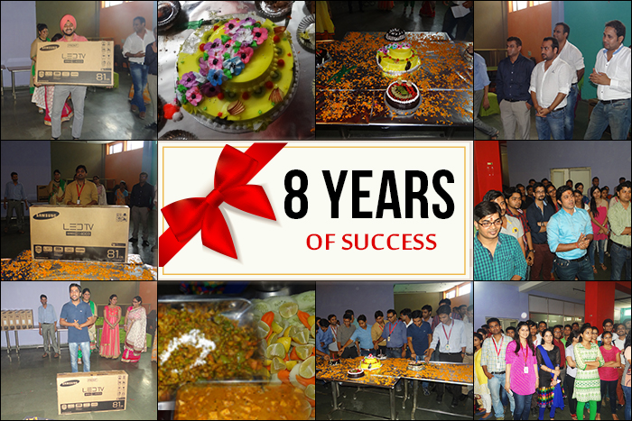 8th Foundation Day Celebration Sparx IT Solutions