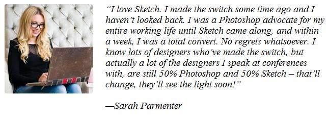 The Bright Growth of Sketch