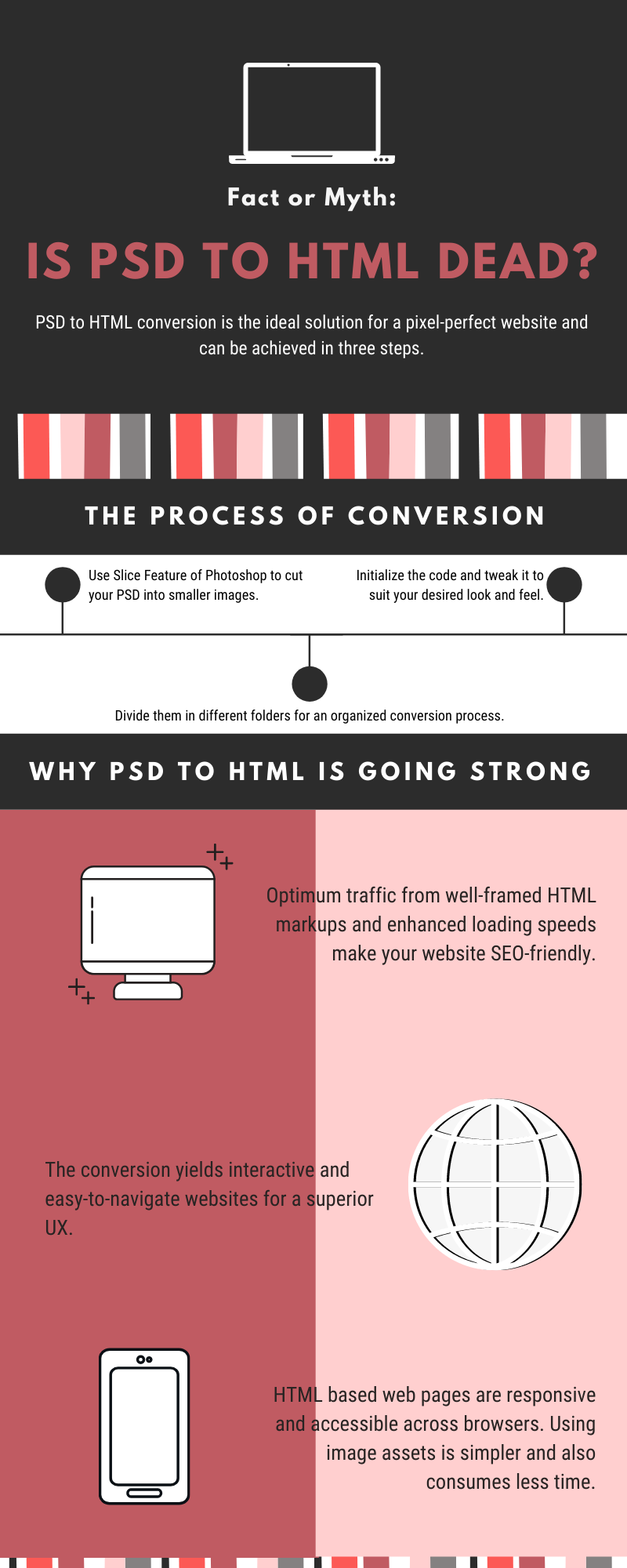 psd to html infographic