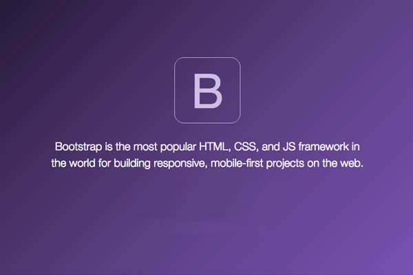 Get PSD to Bootstrap 4 Conversion Service with Awesome