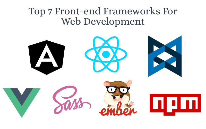 A Sorted List Of Top Front-end Development Frameworks In Trend