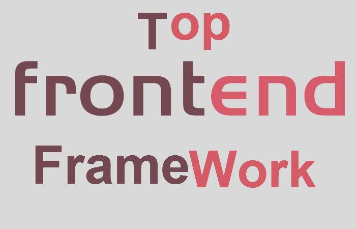 Top 7 Front-end Frameworks For Web Development in Rule - 2019