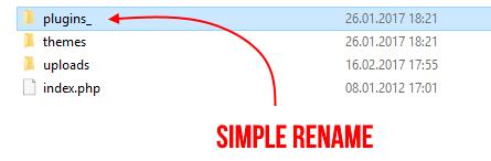 Simple rename