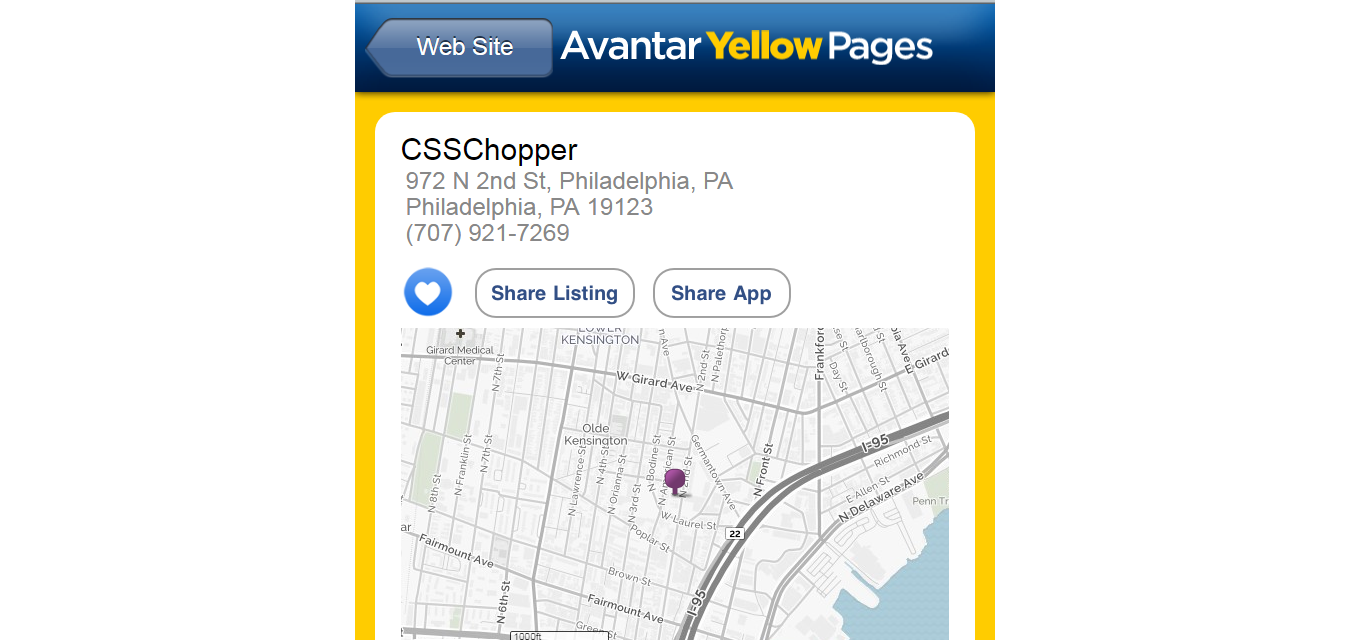 avantar-YellowPages-csschopper