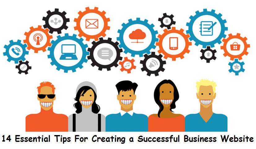 tips successful business website