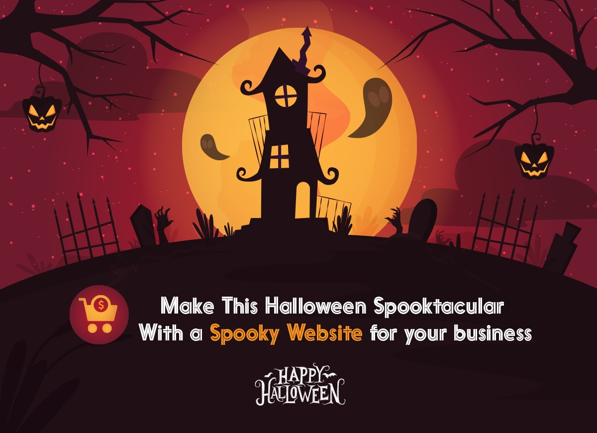 halloween ecommerce website