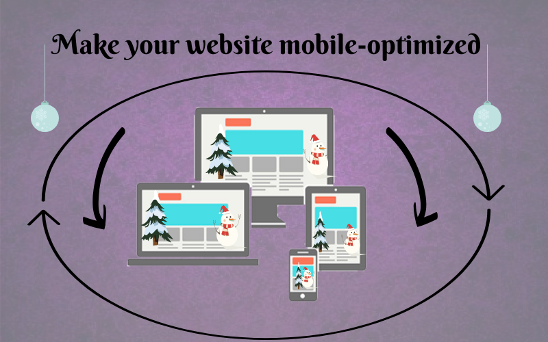 website mobile-optimized