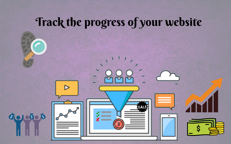 track progress of your website