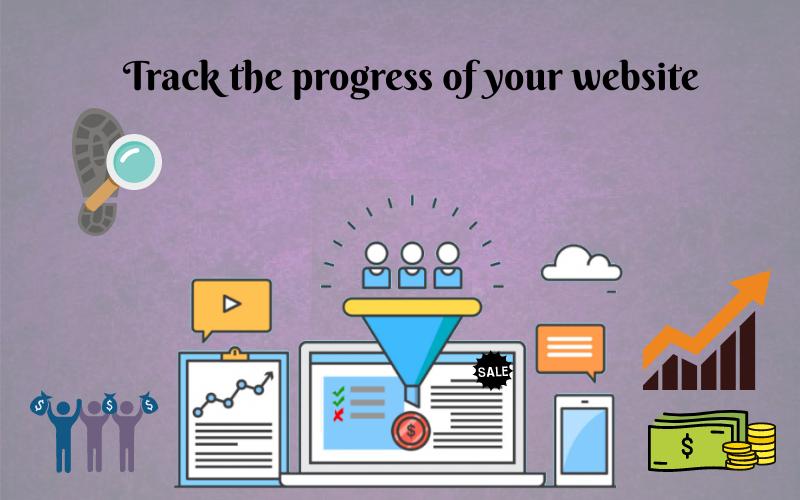 track progress of your website