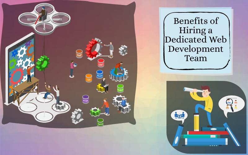 Benefits of Hiring a Dedicated Web Development Team