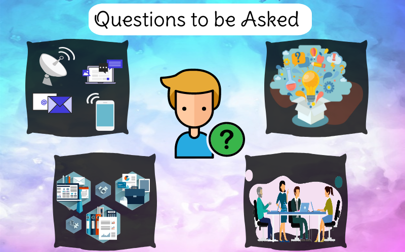 What Questions to be asked