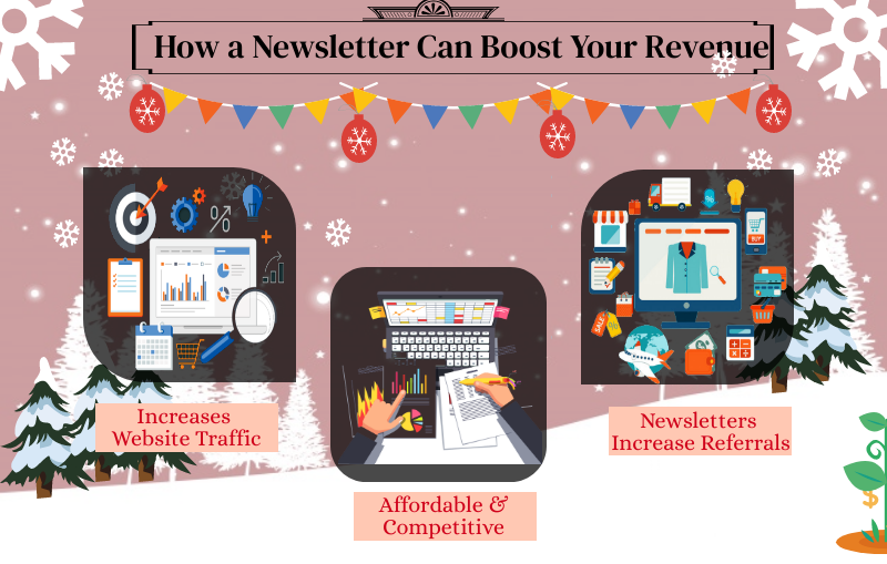 how a newsletter can boost your revenue