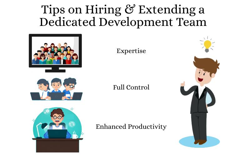 Tips on Hiring & Extending a Dedicated Development Team