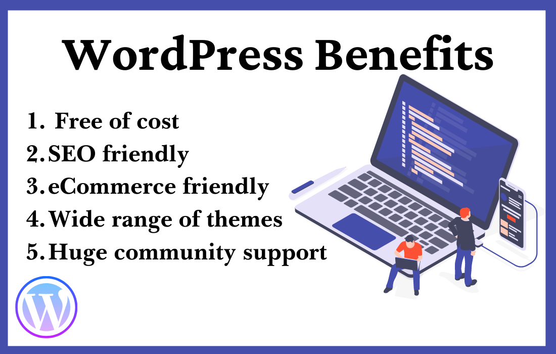 advantages of wordpress website development