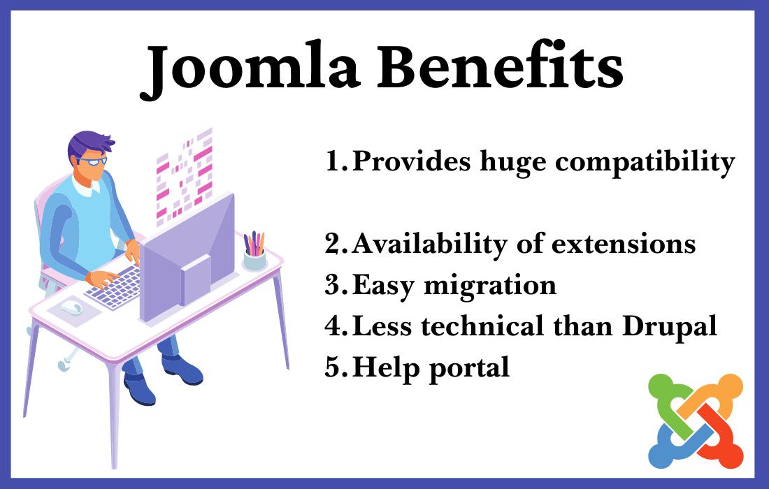 advantages of joomla