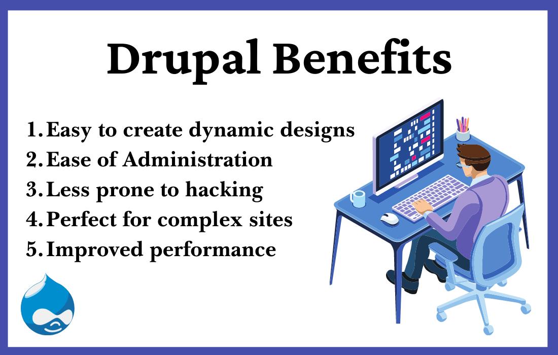 advantages of drupal