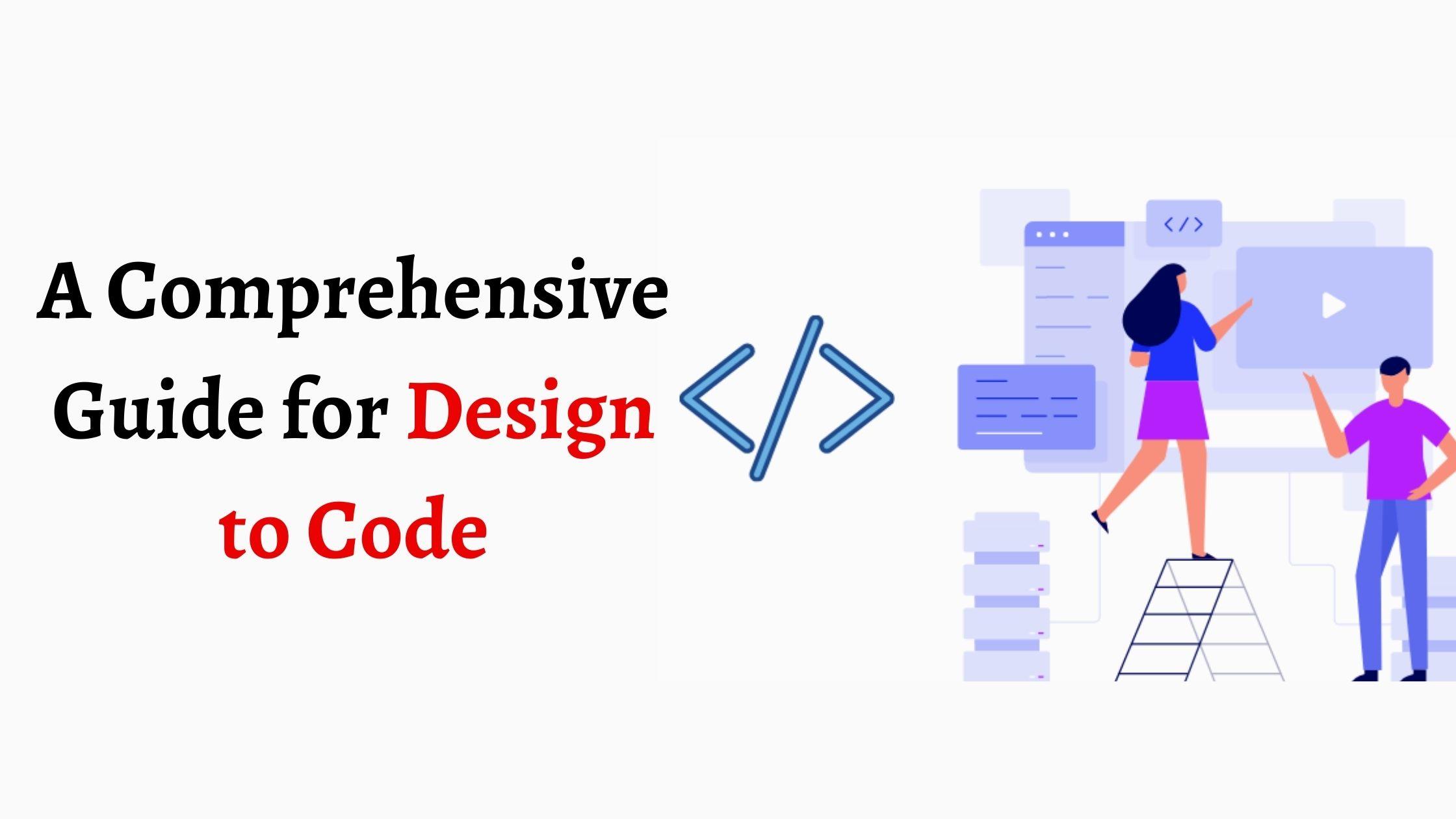 Design to code