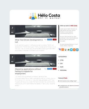 Helio Costa Home Tablet