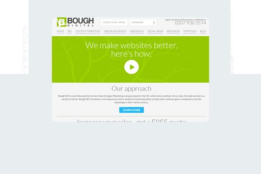 Bough Digital Limited Home Desktop