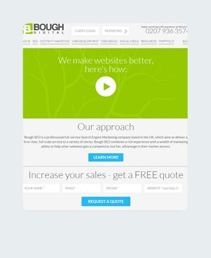 Bough Digital Limited Home Tablet