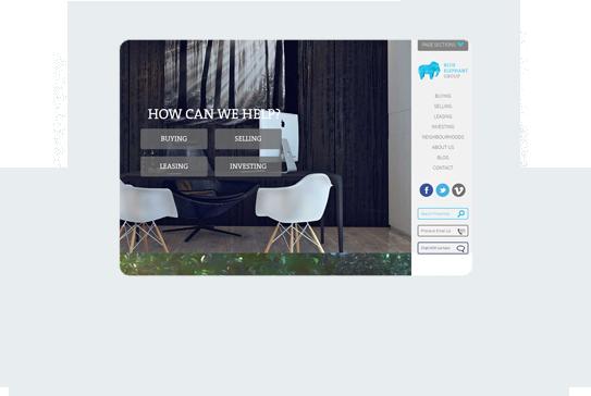 Blue Elephant Home Desktop