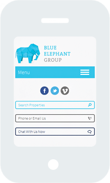 Blue Elephant Home Mobile
